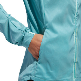 adidas Supernova Confident 3 Season Jacket Women Clear Mint/Colored Heather